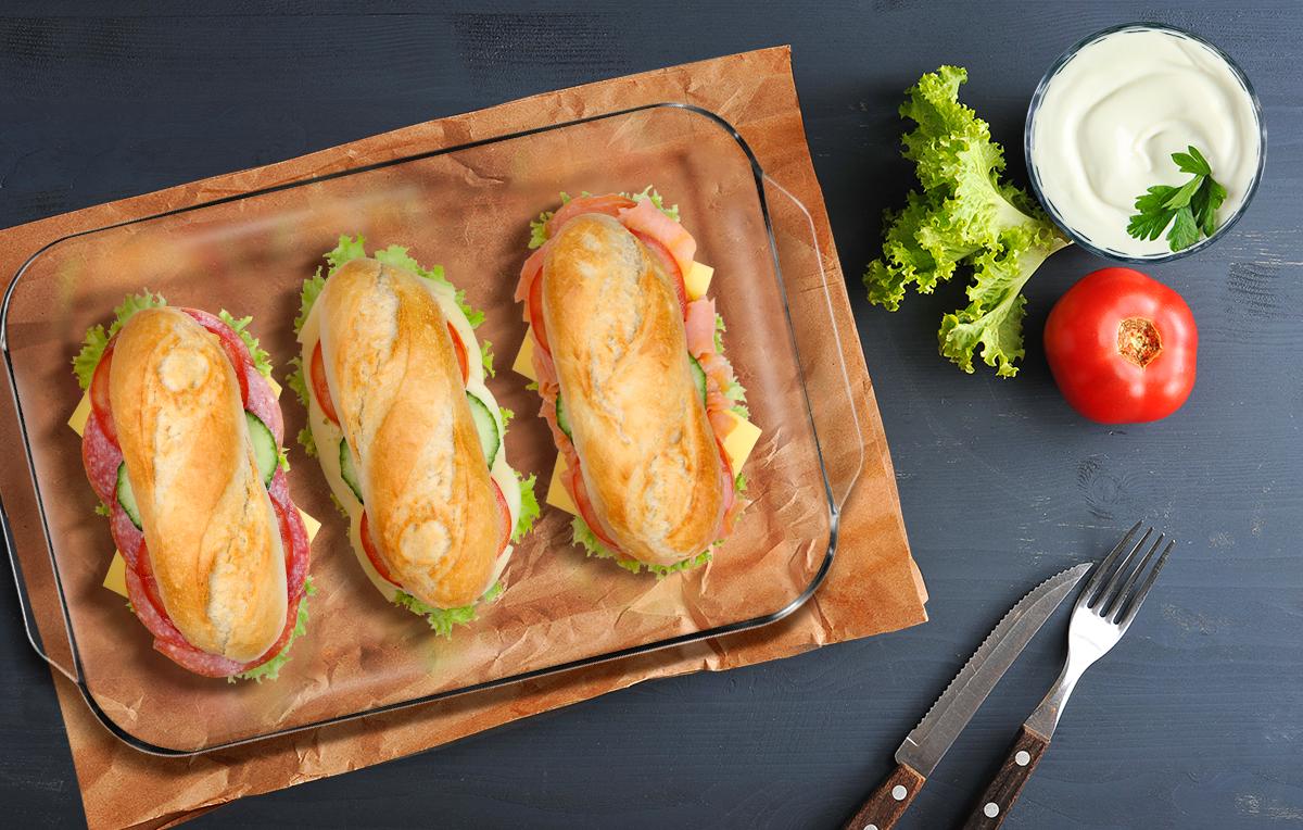 Celebra el Día Mundial del Sándwich con Pyrex