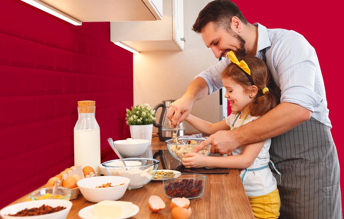Actividades para hacer con los niños en la cocina